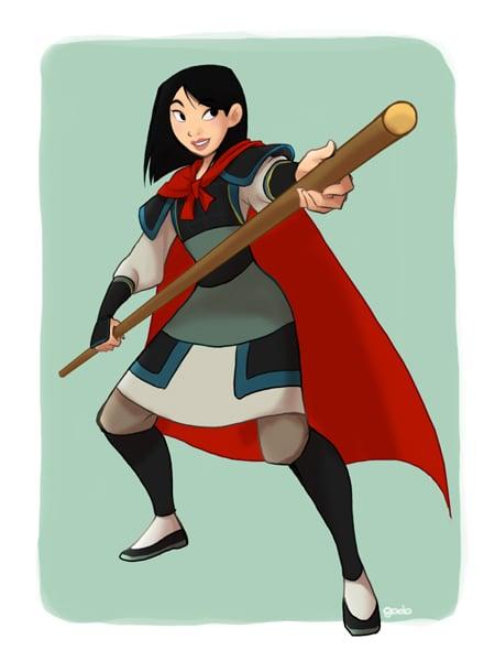 Cross-Dressing Mulan