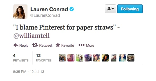 Lauren Conrad's boyfriend William know a thing or two about the power of social media.