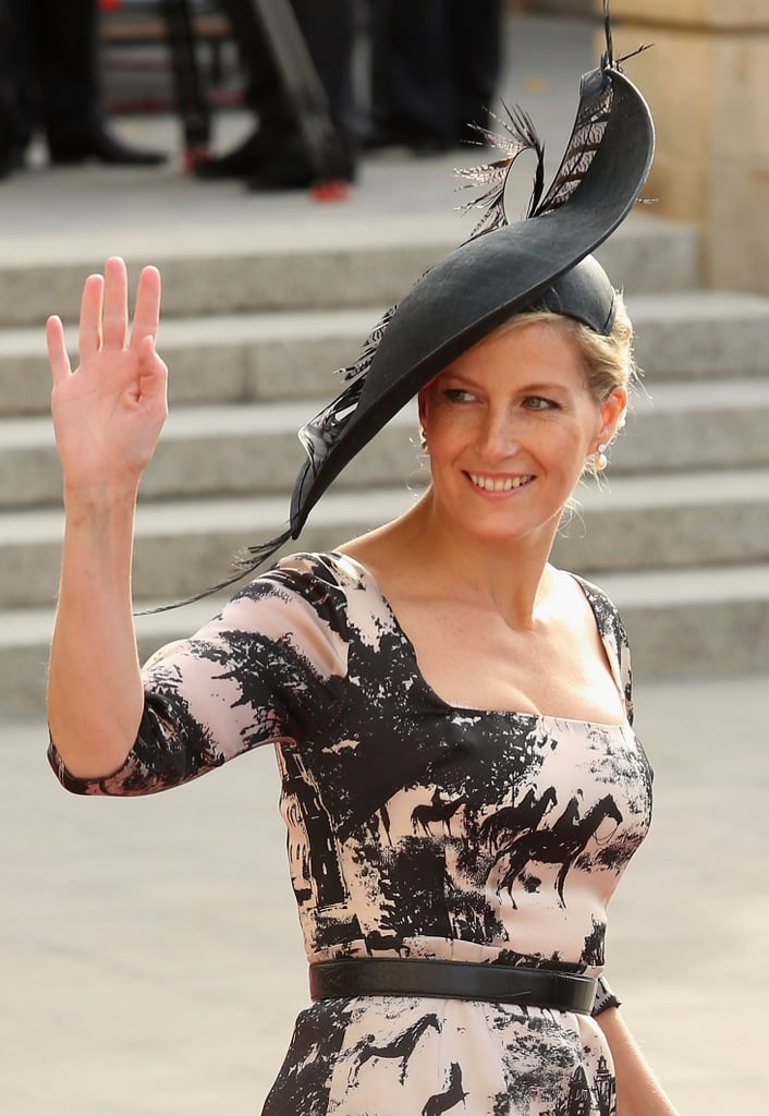 Princess Sophia of Wessex attended a wedding in Luxembourg in October 2012.