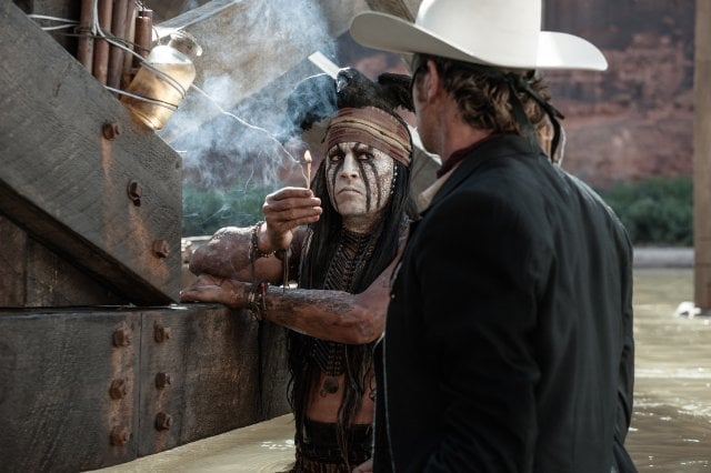 The Lone Ranger: See Johnny Depp and Armie Hammer in All the Pictures