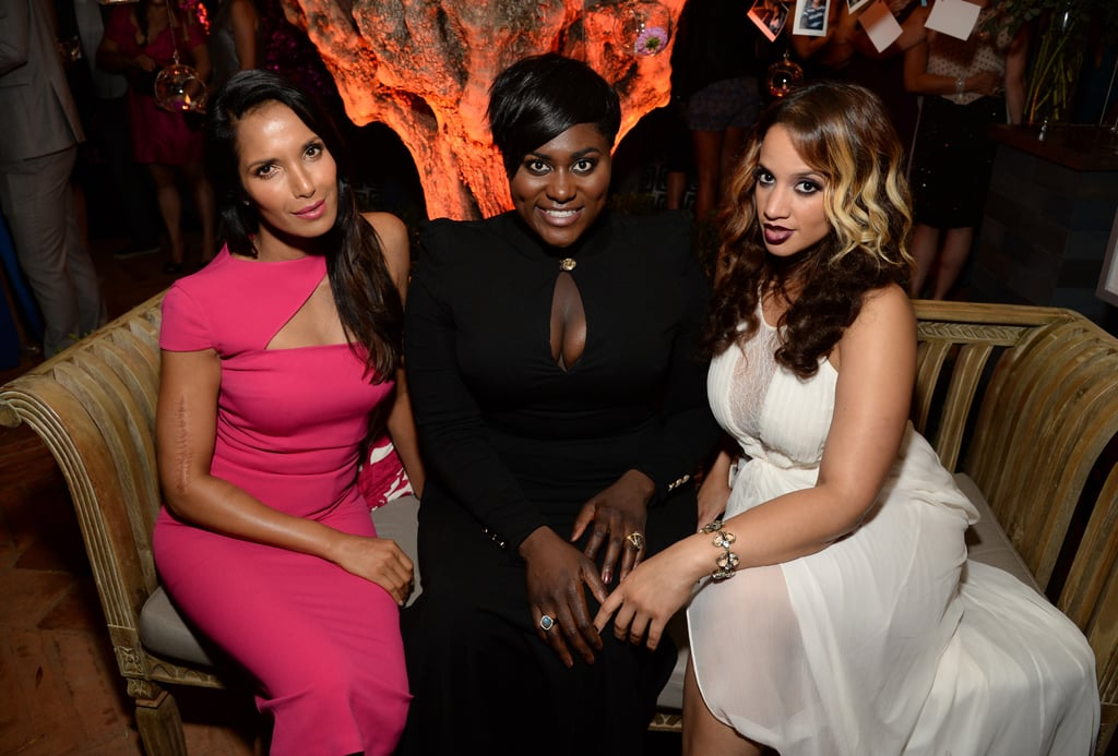 Padma Lakshmi mingled with Danielle Brooks and Dascha Polanco on Saturday.