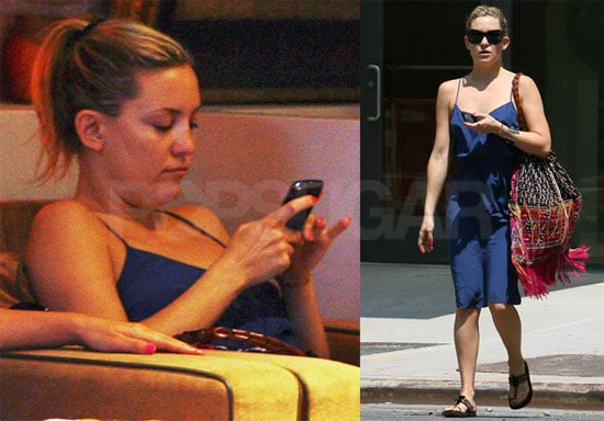 Pictures of Kate Hudson Relaxing on Her Day Off in NYC