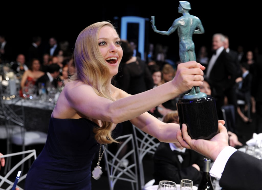 Amanda Seyfried was mesmerized by a SAG in 2013.
