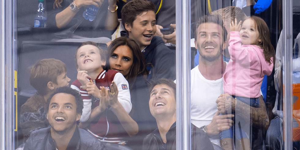 Video: Harper Beckham's Kiss Cam Debut! Plus, Is David Starting a New MLS Team?