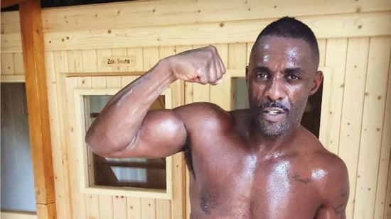 Idris Elba Shares Shirtless Post-Workout Selfie and It's a Lot to Handle