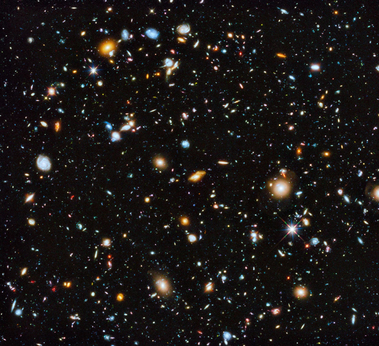 The Most Colorful View of the Universe