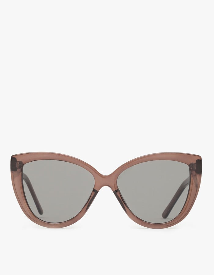 Oversize shades with a strong cat-eye shape? Please and thank you, Cheap Monday ($40)!