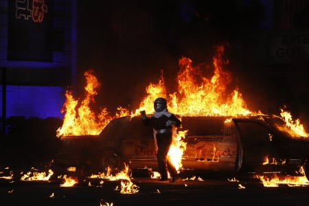'America's Got Talent' Recap: Explosions, Freefalls and Extreme Horseback Riding