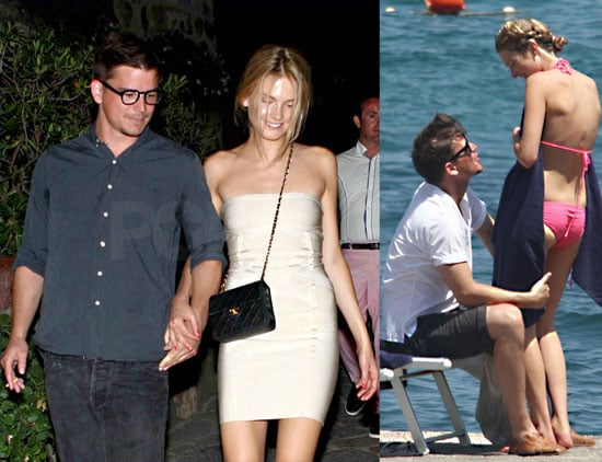 Josh Hartnett Gears Up For His Birthday Beachside With Sophia Lie