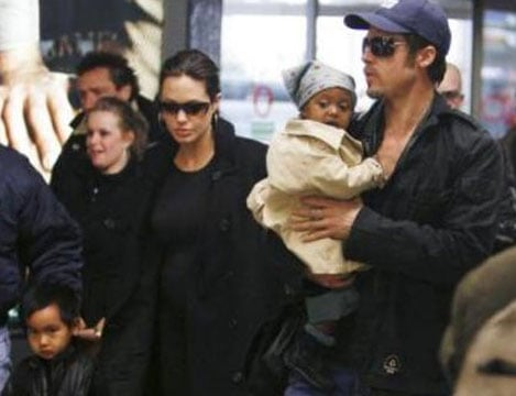 The Jolie-Pitt's Christmas Present