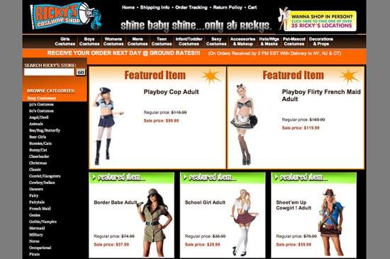 Fab Site: RickysHalloween.com