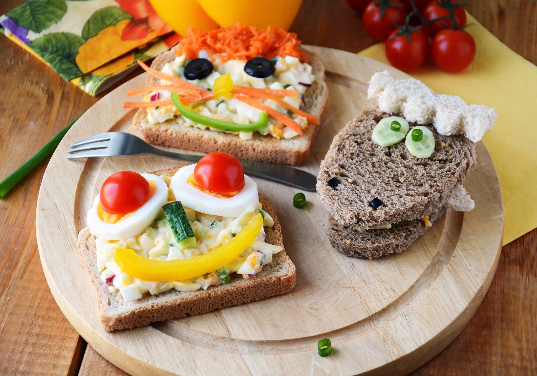 Как сделать бутерброды