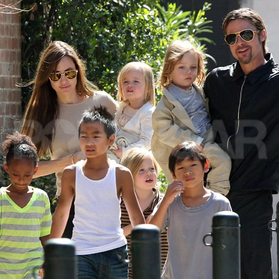 All Six Jolie-Pitts Step Out