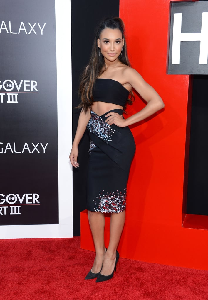 We love the idea of having the skirt match your top — almost like it was meant to be a dress. Cue Naya Rivera to show you how it's done.