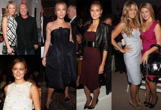 Photos of Heidi Klum, Jennifer Lopez, Lauren Conrad, Blake Lively and More at 2009 Spring New York Fashion Week