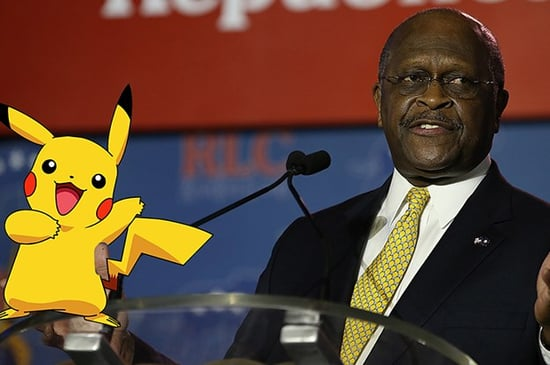Here's To Herman Cain, Who Understood The Glory Of Pokemon Before Everyone Else