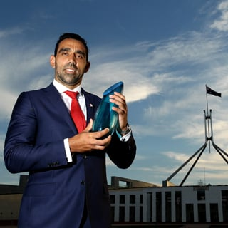Why Adam Goodes Was The 2014 Australian Of The Year