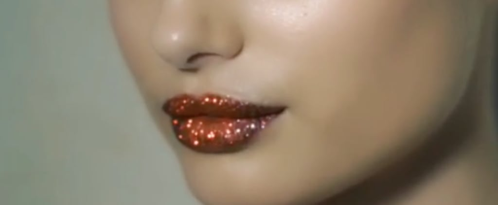 This Lip Kit Is Bringing Back Back Glitter in a Chic New Way