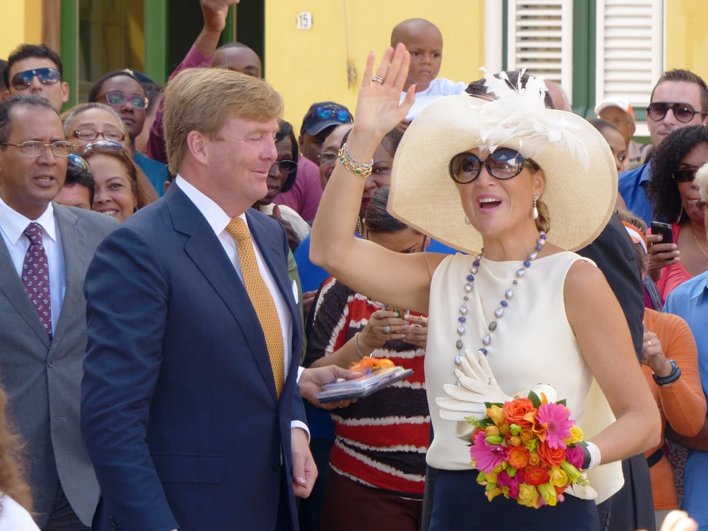 King Willem-Alexander of the Netherlands and Queen Maxima visited Curacao in the Dutch Caribbean on Monday during their 10-day trip.
