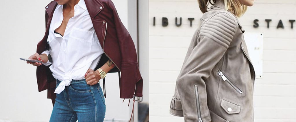 How to Wear a Leather Jacket the Cool-Girl Way