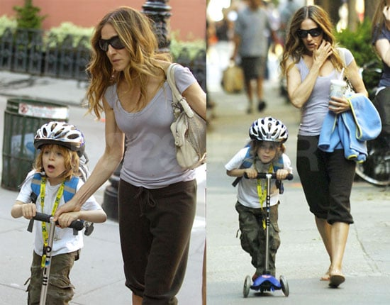Sex and the City's Sarah Jessica Parker Out with Son James Wilkie in NYC