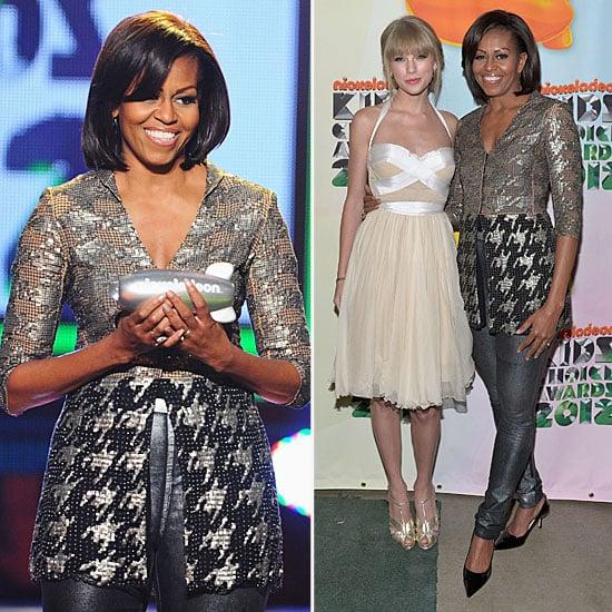 Michelle Obama Kids' Choice Awards