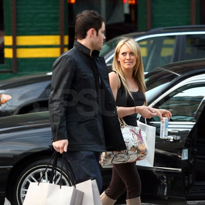 Hilary Duff and Mike Comrie Shopping in NYC