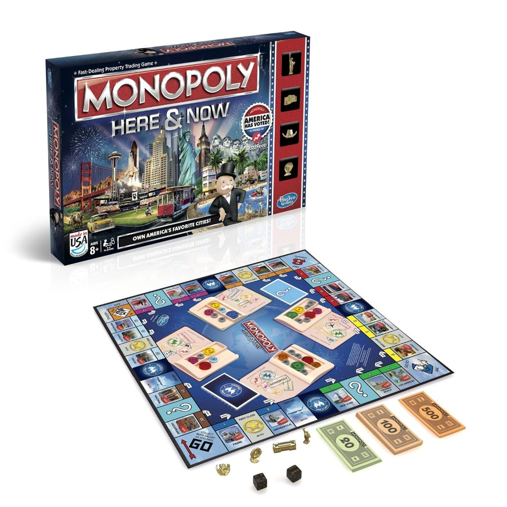 For 8-Year-Olds: Monopoly Here & Now Game: US Edition