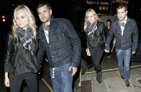 Josh & Diane Celebrate Her Night Off At The Clubs