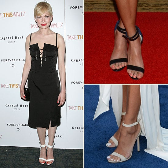 The Trend: Ankle-Strap Heels