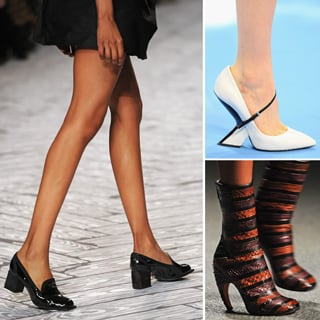 2013 Autumn Winter Paris Fashion Week Shoes: Valentino, Dior
