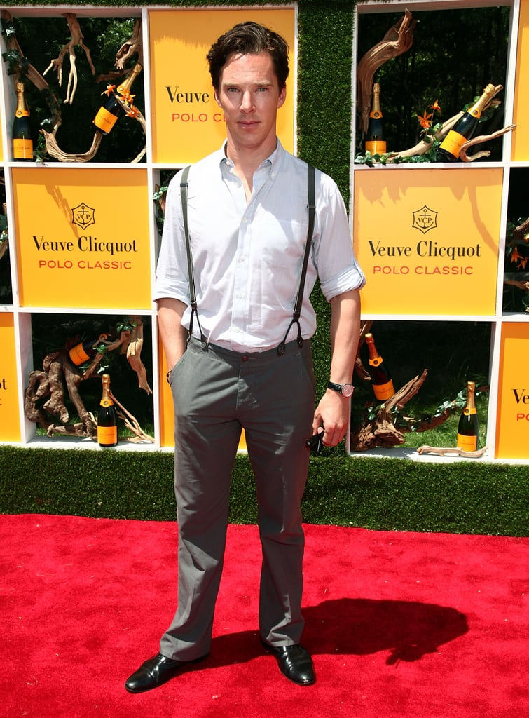Any Man Who Can Make Suspenders Look This Good Is OK in Our Book