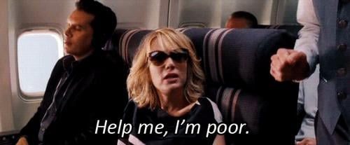Realizing you totally can't afford those new Isabel Marant booties.