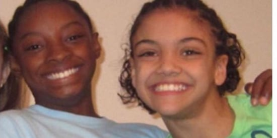 This Old Photo Of Simone Biles And Laurie Hernandez Foresaw Olympic Greatness