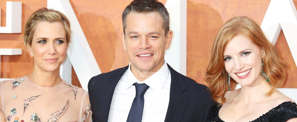 Matt Damon's Smile Is Contagious at the London Premiere of The Martian