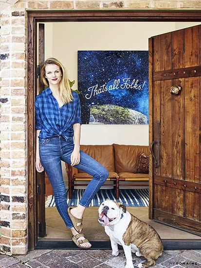 Go Inside Brooklyn Decker's Comfortable Austin Home (She Designed it Herself!)