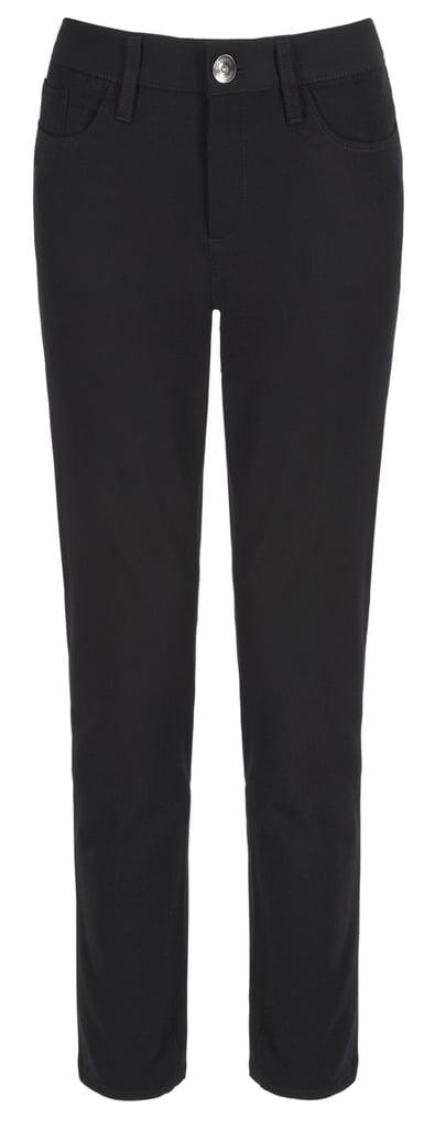 Banana Republic Sloan 5-pocket skinny black pants ($90)