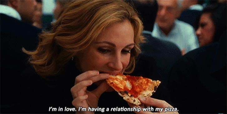 """""""Don't you miss pizza?"""""""