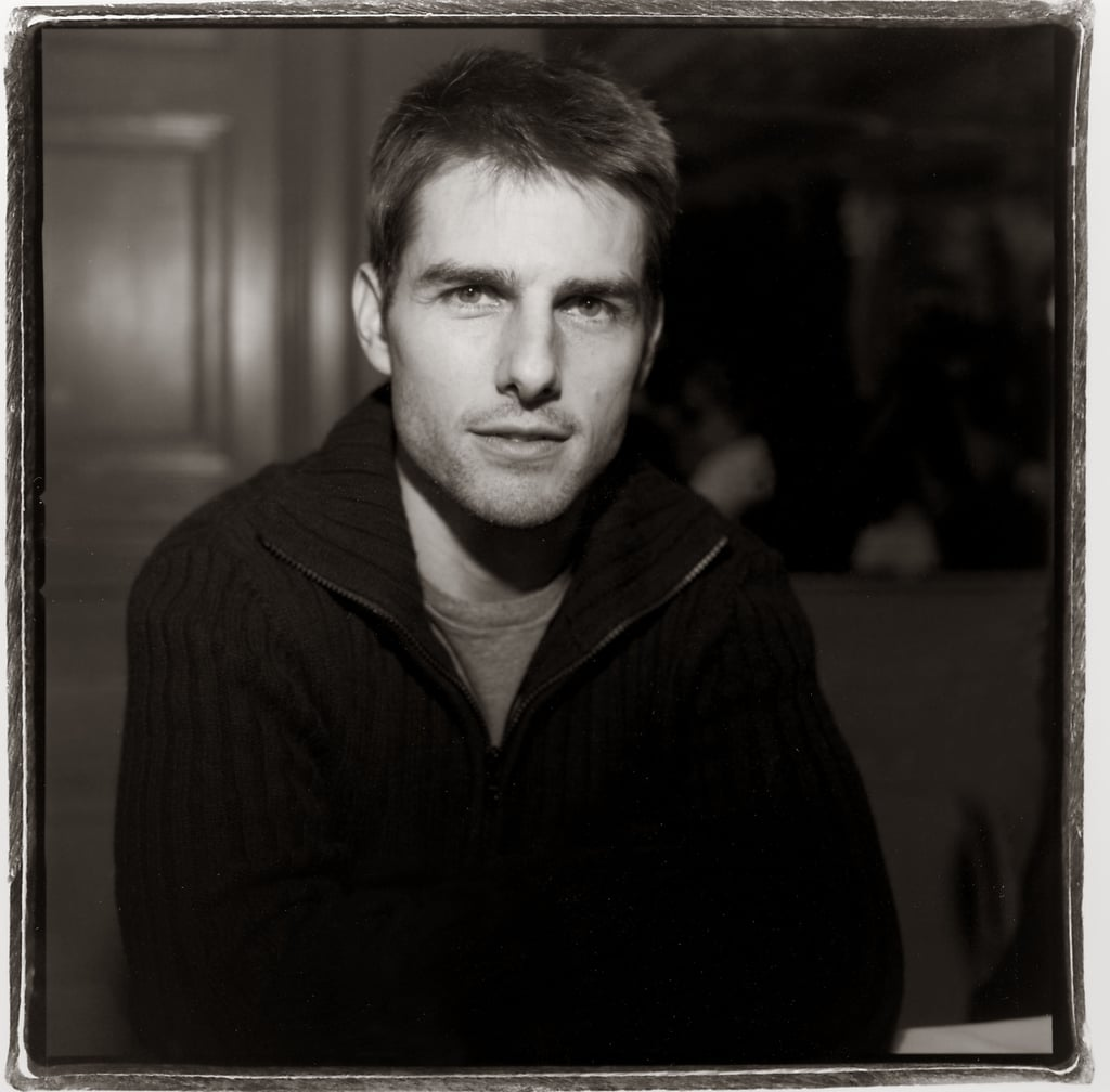 Tom Cruise posed for his Vanilla Sky portrait in December 2001.