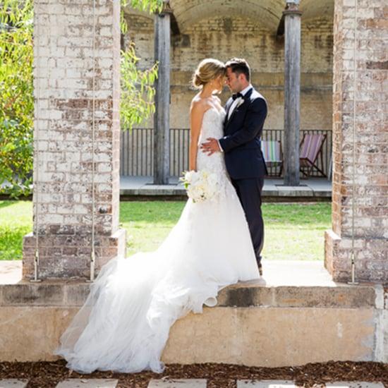 Real Wedding Dress Pictures Steven Khalil