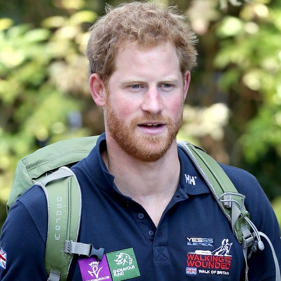 Prince Harry Talking About Charity and Princess Diana