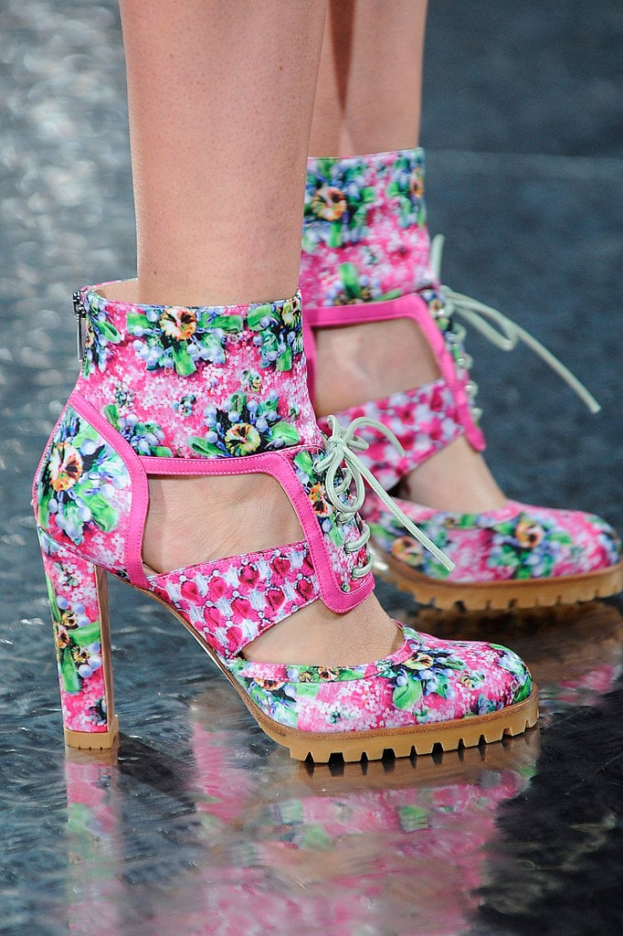 Summer Booties: Mary Katrantzou Spring 2014