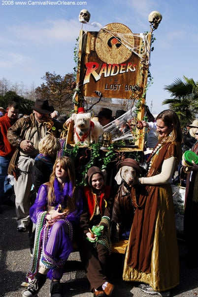 Out and About: Louisiana's Krewe of Barkus
