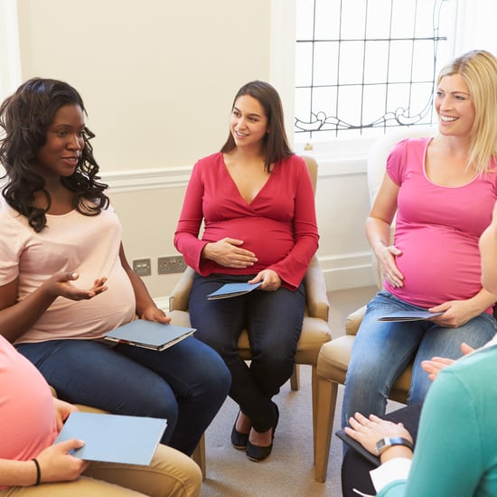 Pregnant Moms You Meet at Childbirth Class