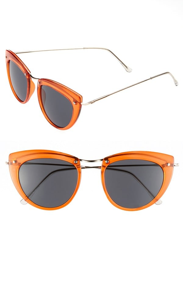 Experiment with some freshly squeezed fashion with Spitfire's orange shades ($38).