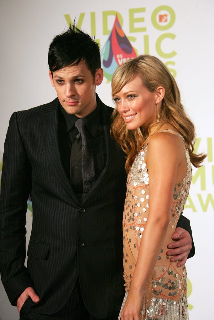 Hilary Duff and Joel Madden