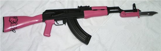 Painted Guns Look Like Toys