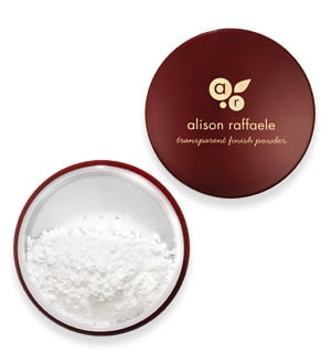 Alison Raffaele Transparent Finishing Powder and Allison Raffaele Transparent Finish To Go Refillable Dispensing Brush