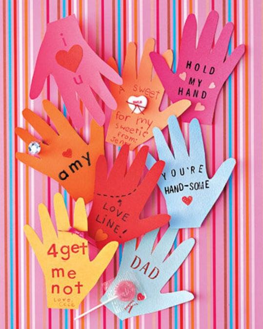 Valentine's Handprint Craft