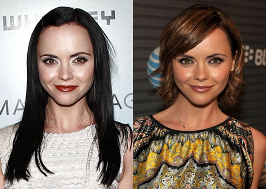 Pictures of Christina Ricci's New Haircut and Color
